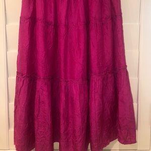Calypso Women's silk skirt